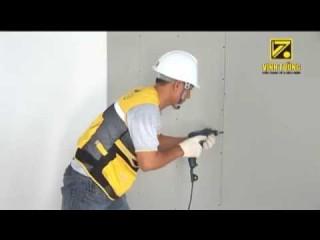 Hướng dẫn thi công vách ngăn bằng hệ khung V Wall