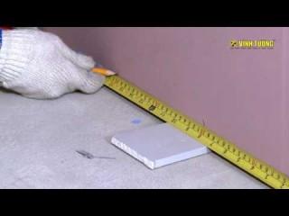 Hướng dẫn thi công Vách ngăn thạch cao chống cháy 120 phút V Wall