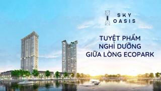 Thi công Tòa S3 Sky Oasis - Tuyệt phẩm nghỉ dưỡng giữa lòng Ecopark