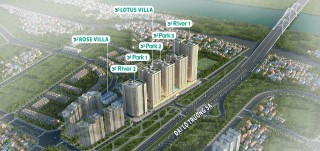 Thi công trần thạch cao Chung cư CT2 CT3 CT4 - Dự án EUROWINDOW RIVERPARK