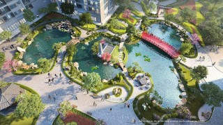 Hitecon thi công tòa thứ 3 dự án Vinhomes Ocean Park Gia Lâm